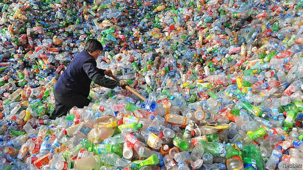 recycling  in China