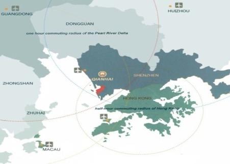 Qianhai map